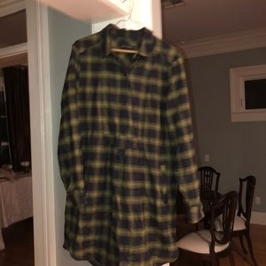 Banana republic plaid dress